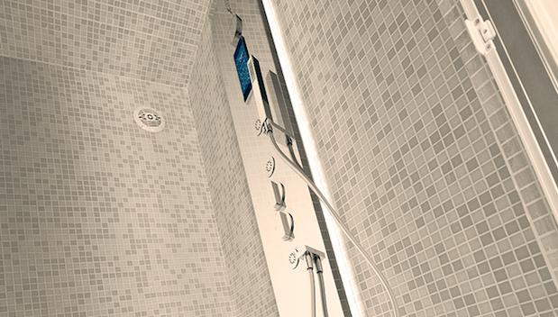 Colonna doccia Steam 3 Plus beige - Foto by Grandform
