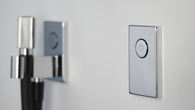 Sistema doccia Switch - Design by Davide Vercelli, foto di Fima Carlo Frattini