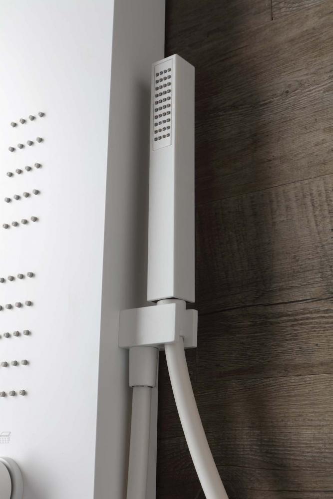 Doccino della colonna doccia Easy Shower Total White - Foto by Grandform