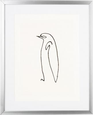 Picasso's Penguin, stampa digitale Line Art - Foto by Westwing