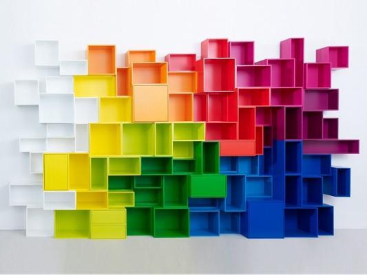 Composizione Cubit multicolore - Foto by Cubit
