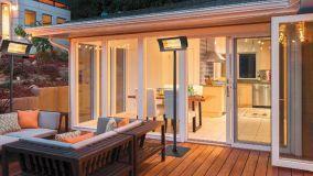 Lampade riscaldanti e stufe da esterno