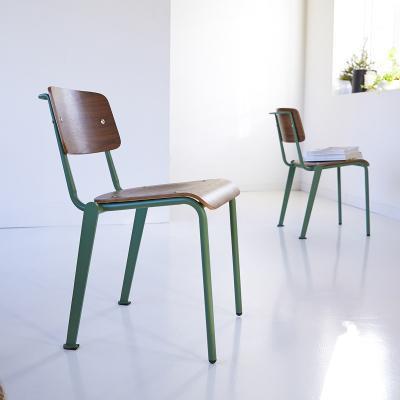Sedia in legno e metallo Mio di Tikamoon