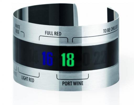 Un termometro da vino