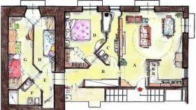 Progetto appartamento 90 mq: ambienti fluidi e razionali