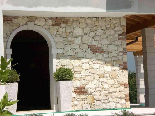 Rivestimento in pietra muro esterno - Pellizzari