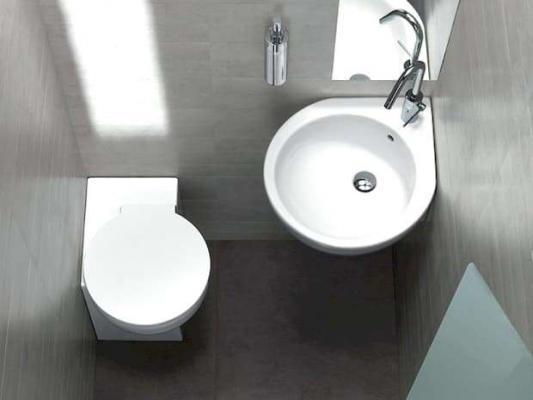 Bagno ospiti wc e lavabo You & Me Hatria