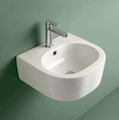 Bagno ospiti lavabo ergonomico Flo Kerasan
