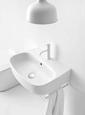 Bagno ospiti lavabo a parete Kerasan