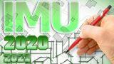 IMU ultime novità 2020-2021