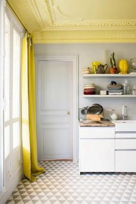Soffitto giallo, da unprogetto.com