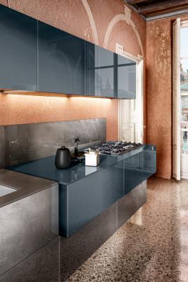 Cucina 36e8 Metal XGlass di Lago