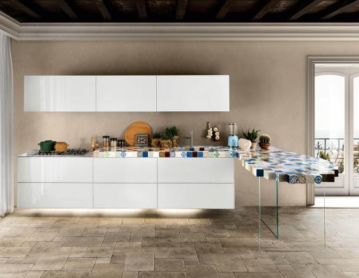 Leggerezza della Cucina 36e8 MadeTerraneo by Lago