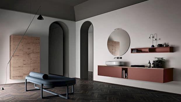 Mobile bagno sospeso per un arredo funzionale ed elegante