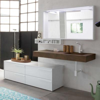 Mobili bagno sospesi con mensolone, Diotti, Atlantic