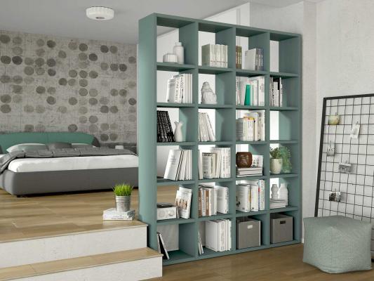 Mobili libreria, Diotti, linea Almond bifacciale