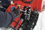 Manubrio dello spazzaneve Honda