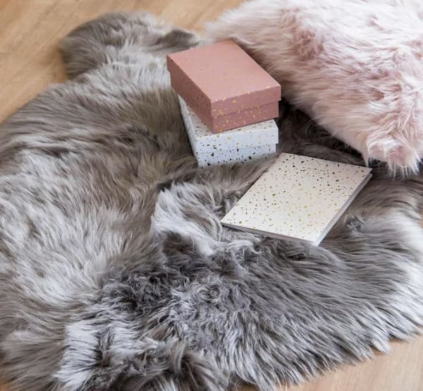Ecological fur rug by Maisons du Monde