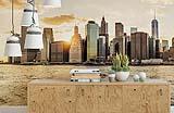 Fotomurale Tramonto a Manhattan di Wall-art