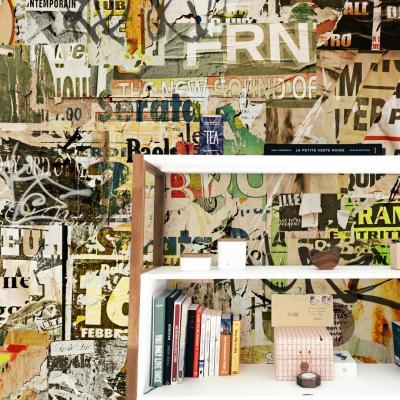 Fotomurale Poster stracciato di Wall-art