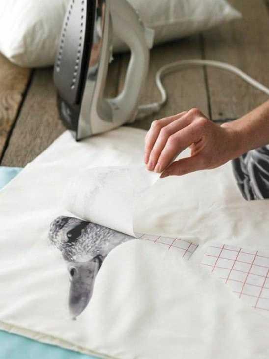 Fabric decals, from zara.com