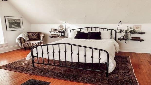 Come arredare una camera da letto vintage