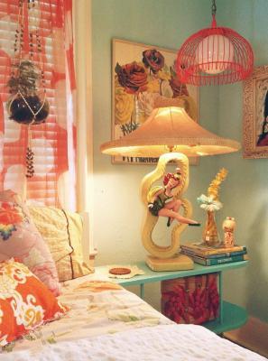 Camera da letto vintage anni '60, da ohman.vn