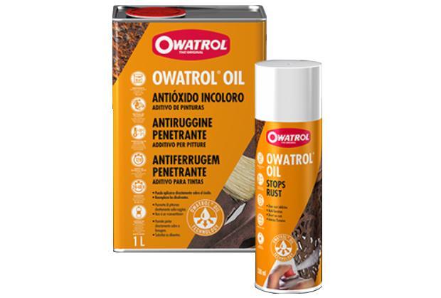 Antiruggine Owatrol Oil dell'omonima azienda per elementi in ferro battuto