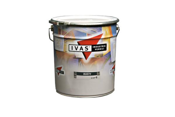 Vernice antiruggine monocomponente Rusty by Ivas