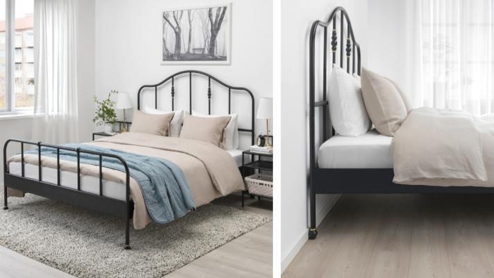 Letto in ferro battuto Sagstua di Ikea