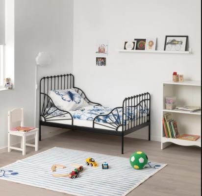 Letto allungabile in ferro battuto Minnen di Ikea
