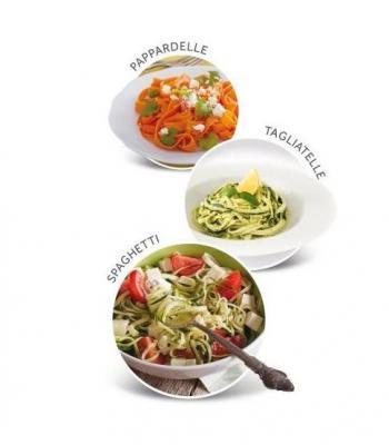 Alcune verdure tagliate con il prodotto Imetec