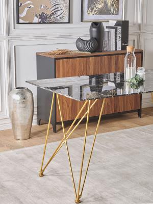 Tavolo di marmo Kenton di Beliani