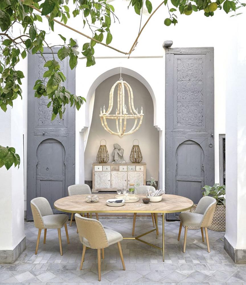 Tavolo ovale Hana di Maisons du Monde