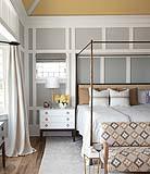 Soffitto colorato in camera da letto: foto e idee by Benjamin Moore