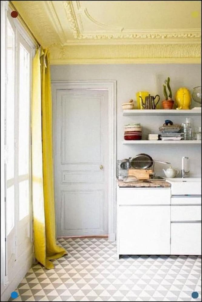 Soffitto colorato, Benjanim Moore