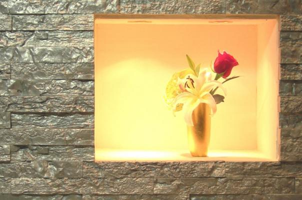 Rivestimento interno by Italpietra color perla