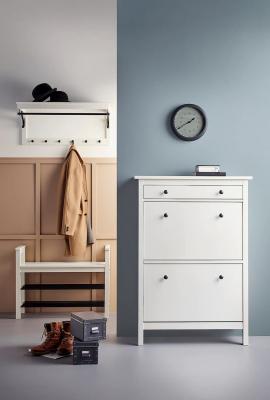 Arredare corridoio, IKEA, Hemnes