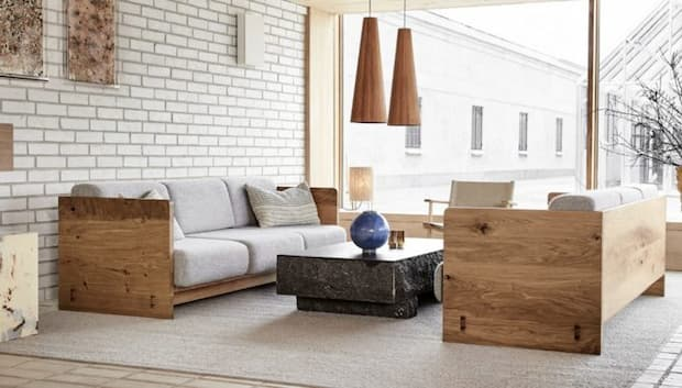 Arredamento design scandinavo, Nording trends, Karmsofa