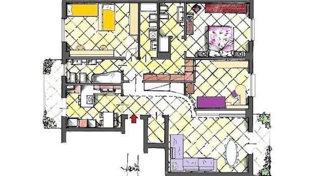Progetto casa 125 mq