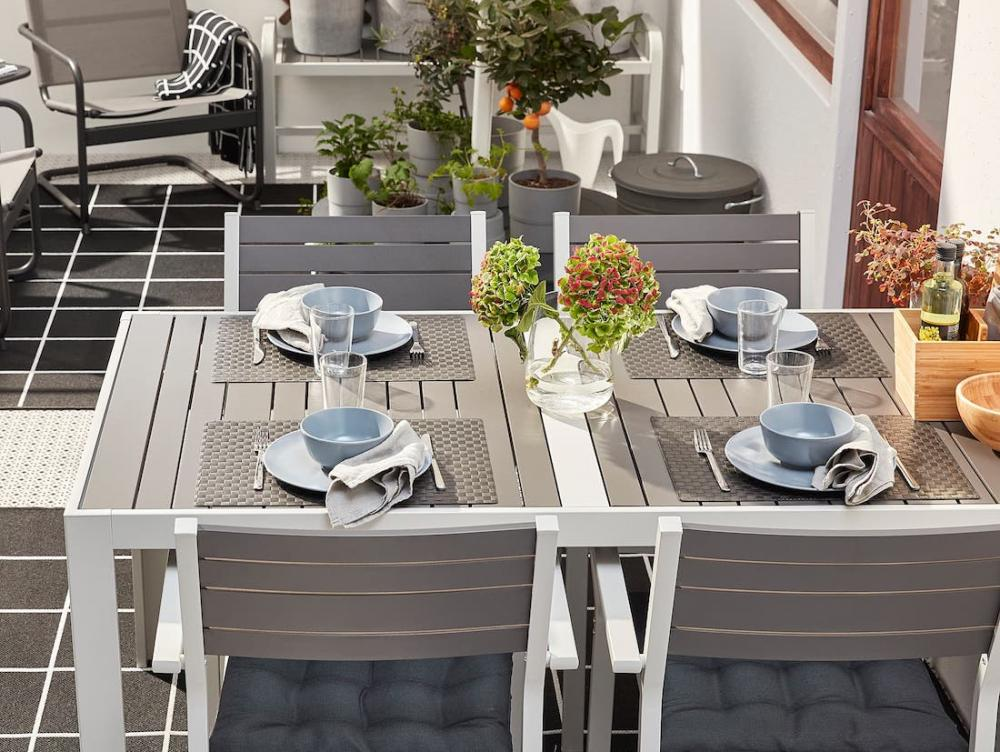 Set da pranzo per esterni Själland - Foto by Ikea
