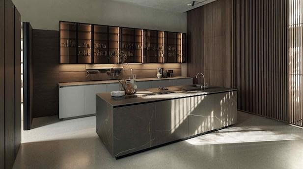 New finishes for the Antis kitchen - Photo by Euromobil