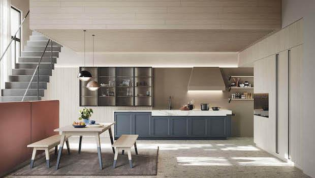 New kitchen M06, Maestrale collection - Photo by Scandola Mobili