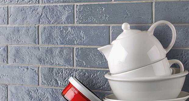 Elementi per rivestimento a effetto mattoncino Skyline di Ceramiche Rondine