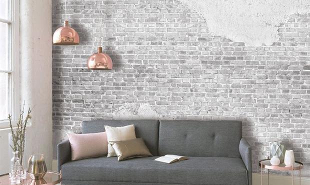Fotomurale Designwalls - Old Brick Wall di Wall-Art