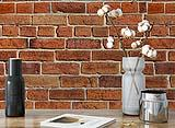 Fotomurale Muretto di Mattoni di Wall-Art