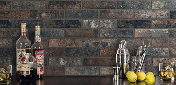 Rivestimento in gres effetto mattone a vista Bristol by Ceramica Rondine