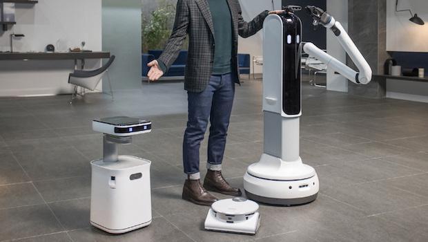 CES 2021, robot domestici e aspirapolvere - Foto by Samsung