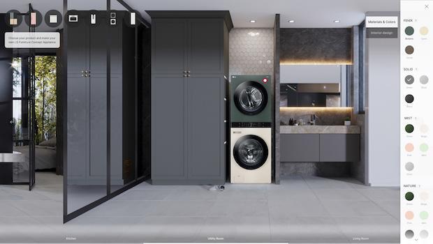 LG Furniture Concept Appliances, personalizzazione - Foto by LG