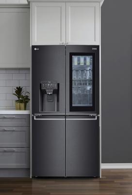 CES 2021: frigo InstaView Door-in-Door - Foto by LG
